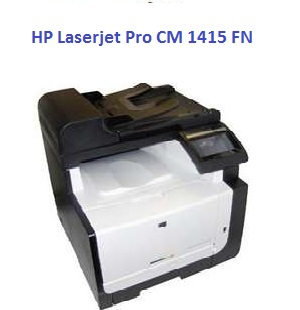 HP Laserjet CM1415 FN printer